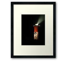 Festive Lighthouse Framed Print