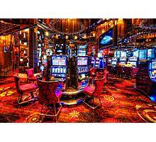 Vegas Slot Machines 2.0 Photographic Print