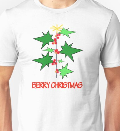 Berry Christmas Unisex T-Shirt