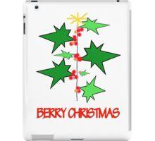 Berry Christmas iPad Case/Skin