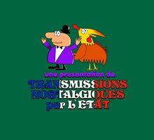 Une presentation de Transmissions Nostalgiques par L' Etat Unisex T-Shirt