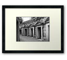 Highgate cemetery Framed Print