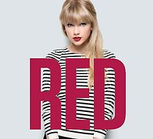 Taylor Swift RED by gleviosa