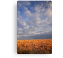 Nebraska Prairie & Sky Canvas Print