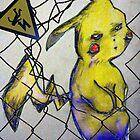 Pikachu, version 1 by Kewpid