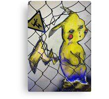 Pikachu, version 1 Canvas Print