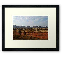 Kata Tjuta, Australian Desert Framed Print