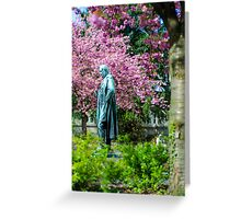 A Spring view on Mr. Bunsen Greeting Card