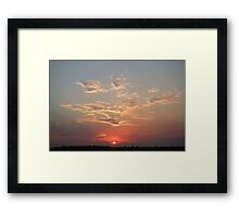 Uluru Sunrise Framed Print
