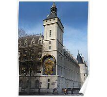 Conciergerie, Paris - Clock Tower Poster