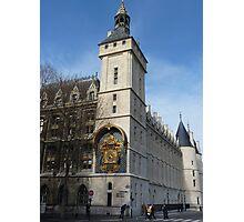 Conciergerie, Paris - Clock Tower Photographic Print