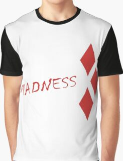 Margot Robbie Madness - Harley Quinn Graphic T-Shirt
