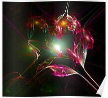 Crystal Manifestation Poster