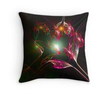 Crystal Manifestation Throw Pillow