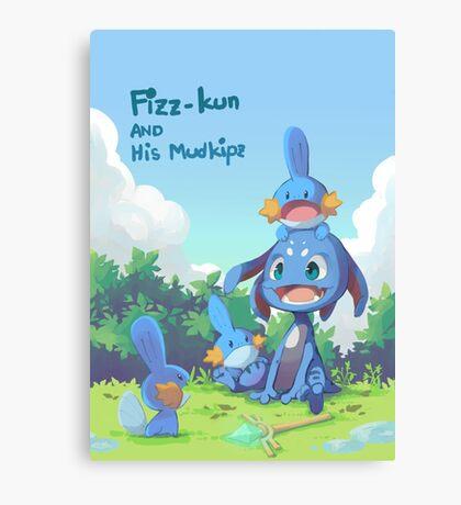 Fizz and Mudkipz Canvas Print