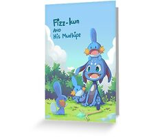 Fizz and Mudkipz Greeting Card