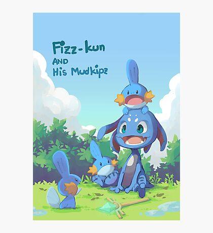 Fizz and Mudkipz Photographic Print
