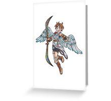 Kid Icarus - Pit Greeting Card