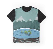 Nessie - Loch Ness Graphic T-Shirt