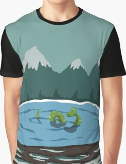 Nessie - Loch Ness Graphic T-Shirt