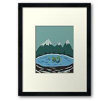 Nessie - Loch Ness Framed Print