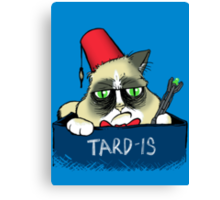 TARD-IS Canvas Print