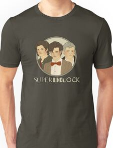 Sam, Eleven, and Lestrade Unisex T-Shirt