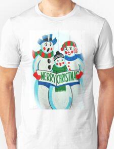 Singing Snowman Family T-Shirt