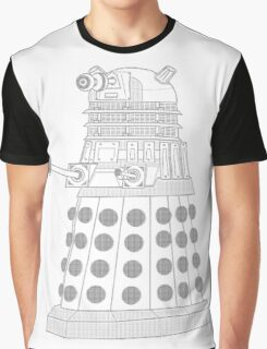 ASCII Dalek Graphic T-Shirt