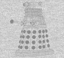 ASCII Dalek Baby Tee