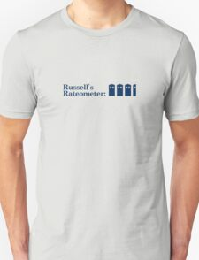 Russell's Rateometer T-Shirt
