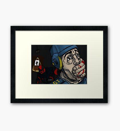 Mark of the Ninja Framed Print