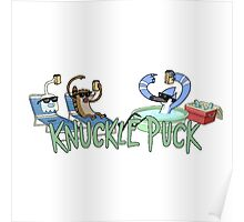 Knuckle Puck: The Regular Show Poster