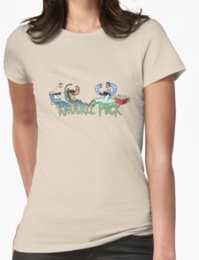 Knuckle Puck: The Regular Show Womens Fitted T-Shirt