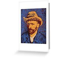 Vincent Van Gogh portrait Greeting Card