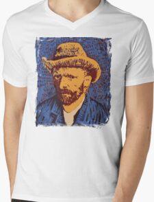Vincent Van Gogh portrait Mens V-Neck T-Shirt