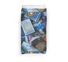 Young Adult Books Duvet Cover