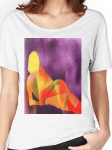 Sunlight on a reclining nude Women's Relaxed Fit T-Shirt