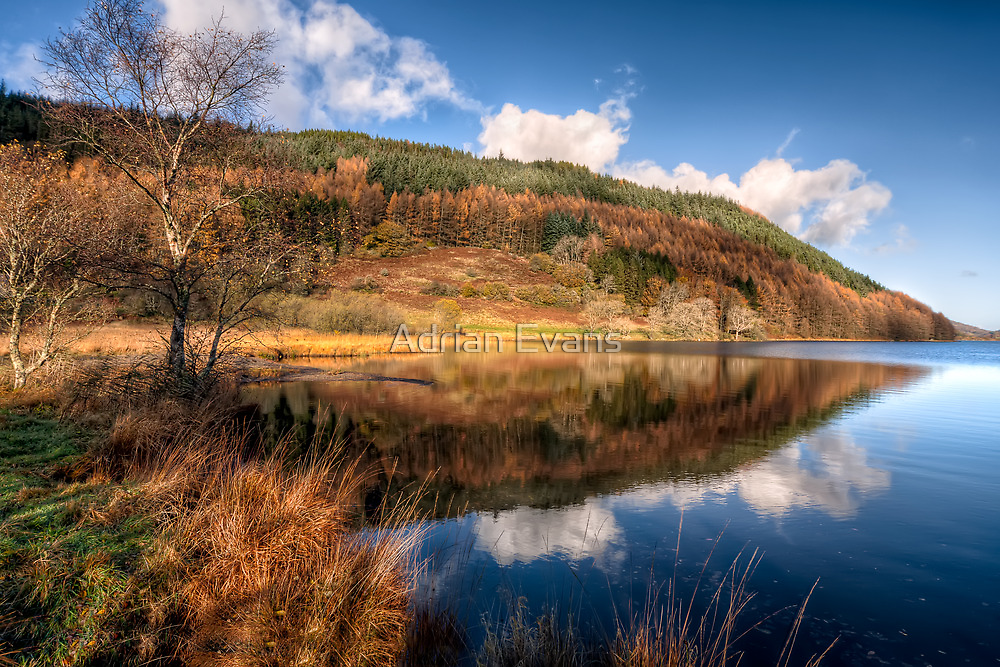 Autumn in Wales by Adrian Evans