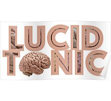LUCID TONIC VII Poster