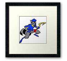 Sly Cooper- Minimalist Framed Print