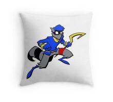 Sly Cooper- Minimalist Throw Pillow