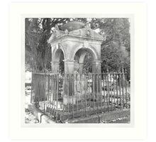 Tomb, Buxton Art Print