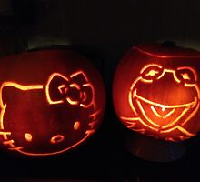 Jack o'lanterns by Robert Steadman
