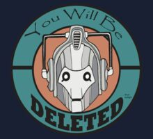 You Will Be DELETED Kids Tee
