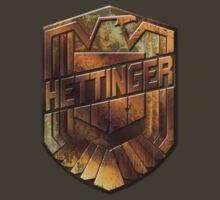 Custom Dredd Badge Shirt - Pocket - (Hettinger)  by CallsignShirts
