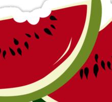 Watermelon slices Sticker