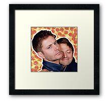 Cockles pizza! Framed Print