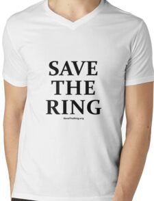 Save The Ring t-shirt Mens V-Neck T-Shirt