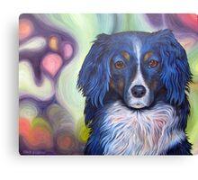 Colorful Dog Canvas Print